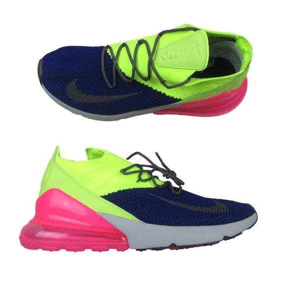 new style 6540c aa2c8 Nike Air Max 270 Flyknit Regency Running Shoes